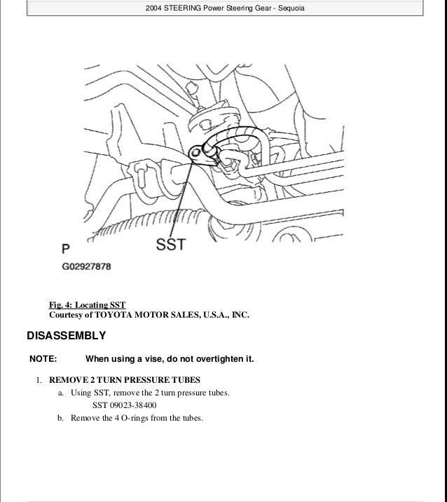 2006 Toyota Sequoia Service Repair Manual