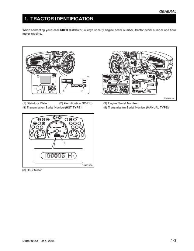 Kioti tractor Manual On Web