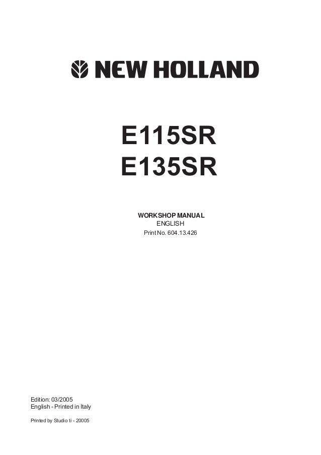 on new holland lb 115 b wiring diagram