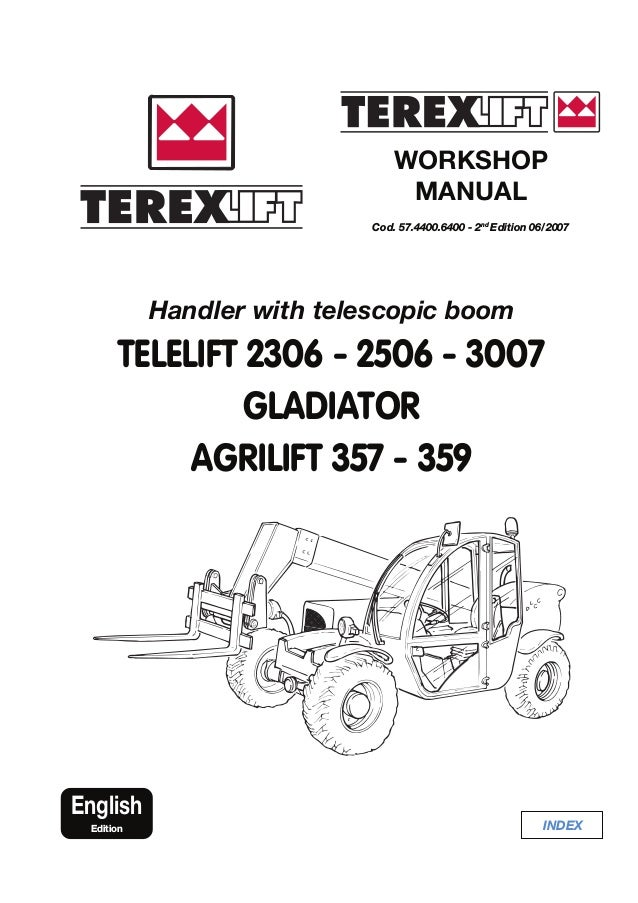 TEREX TELELIFT 2306 GLADIATOR AGRILIFT TELESCOPIC HANDLER
