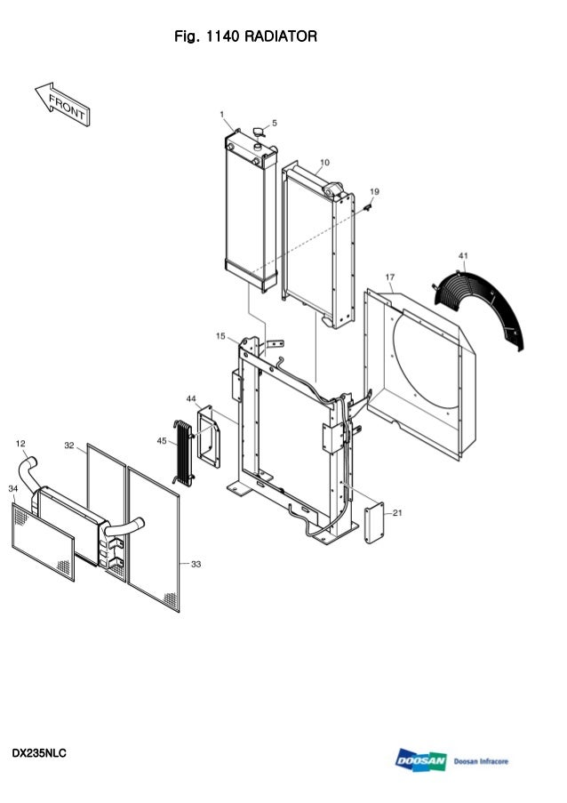 DAEWOO DOOSAN DX235NLC CRAWLER EXCAVATOR Service Repair Manual