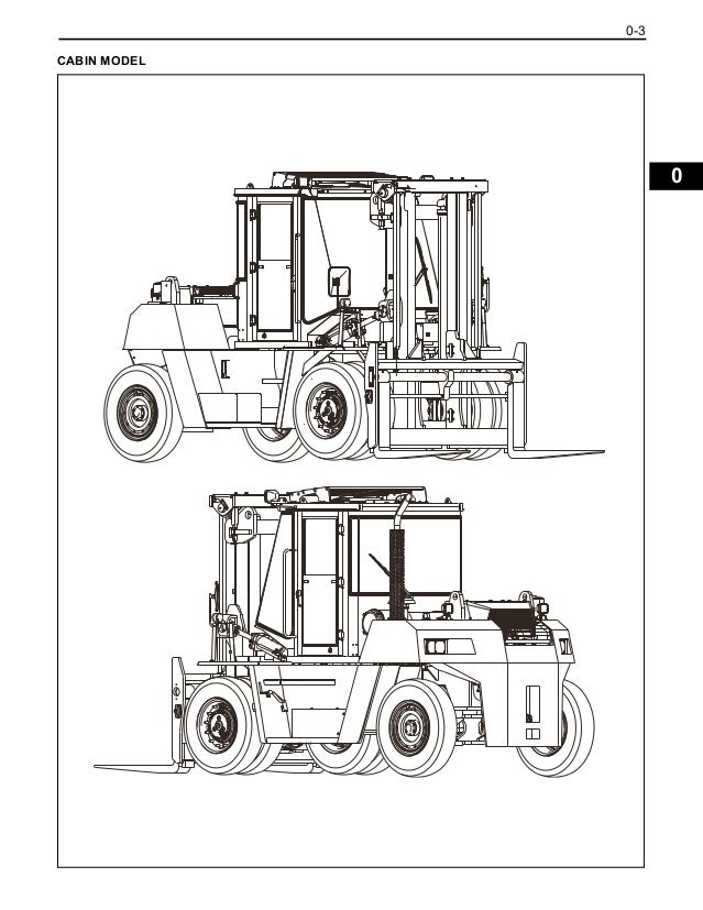 Toyota 50-4FD115 Forklift Service Repair Manual