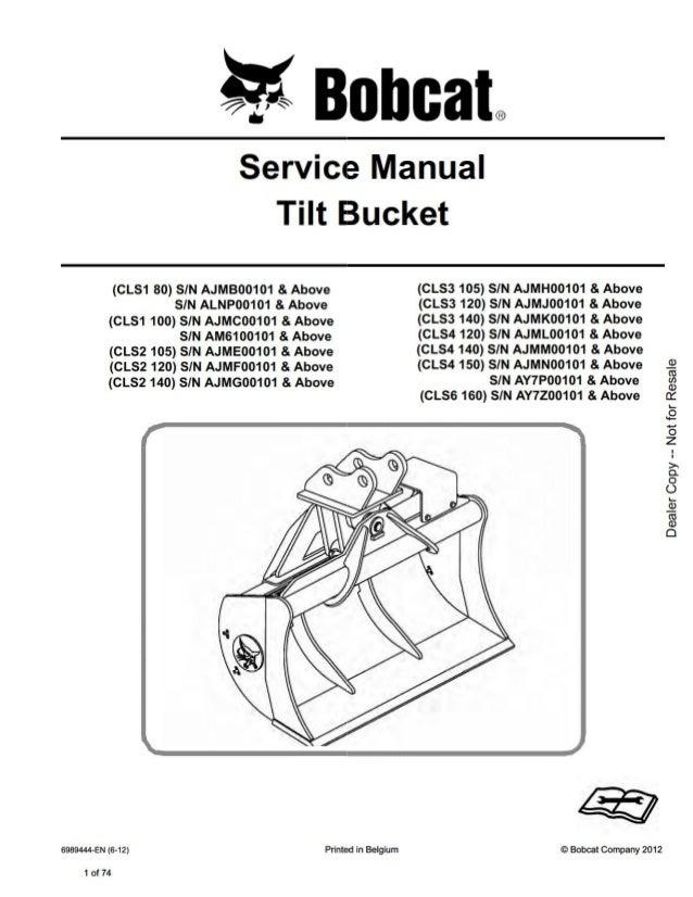 bobcat 709 manual