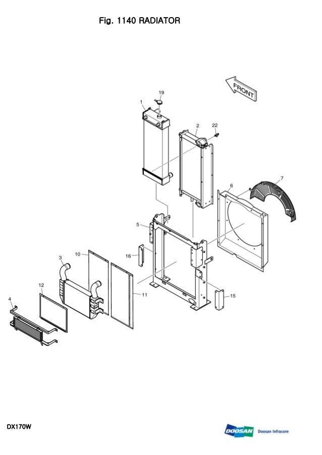 DAEWOO DOOSAN DX170W WHEELED EXCAVATOR Service Repair Manual