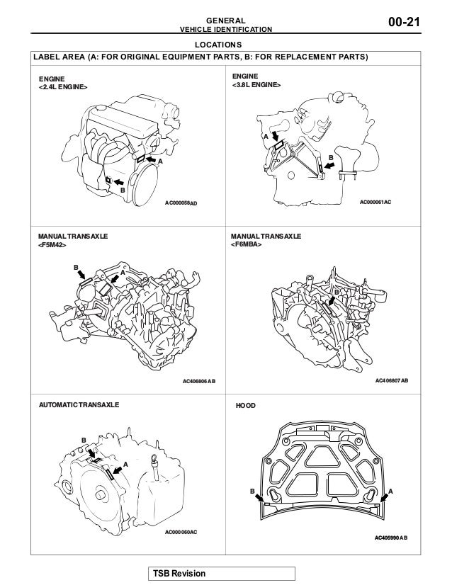 2007 Mitsubishi Eclipse Service Repair Manual