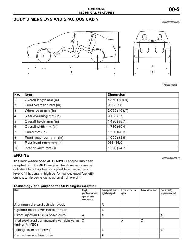 2008 Mitsubishi Lancer Service Repair Manual
