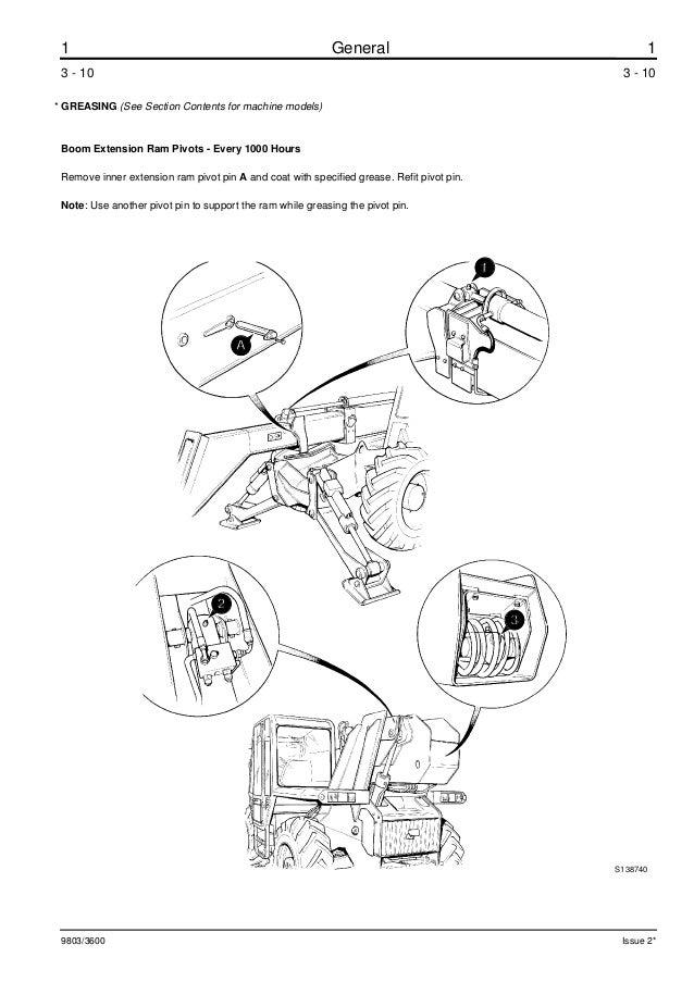 Jcb 525 58 Telescopic Handler Service Repair Manual All561001 Onwards