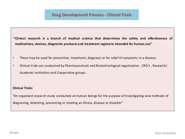 Biotechnological research clinical study