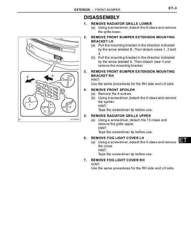 2006 scion tc service manual