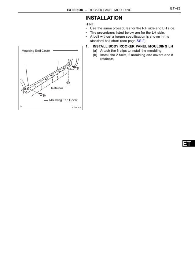 2006 Scion Xb Service Repair Manual