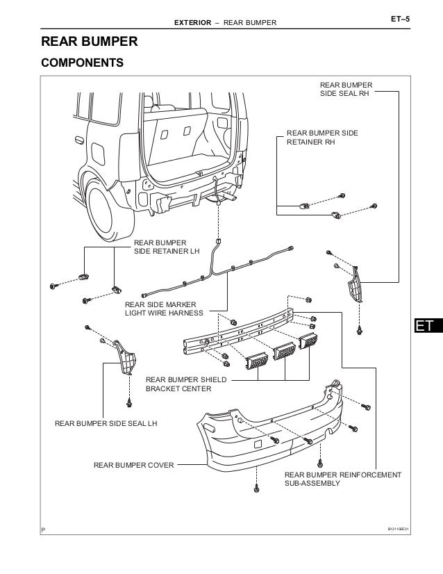 2006 Scion Xb Parts Diagram
