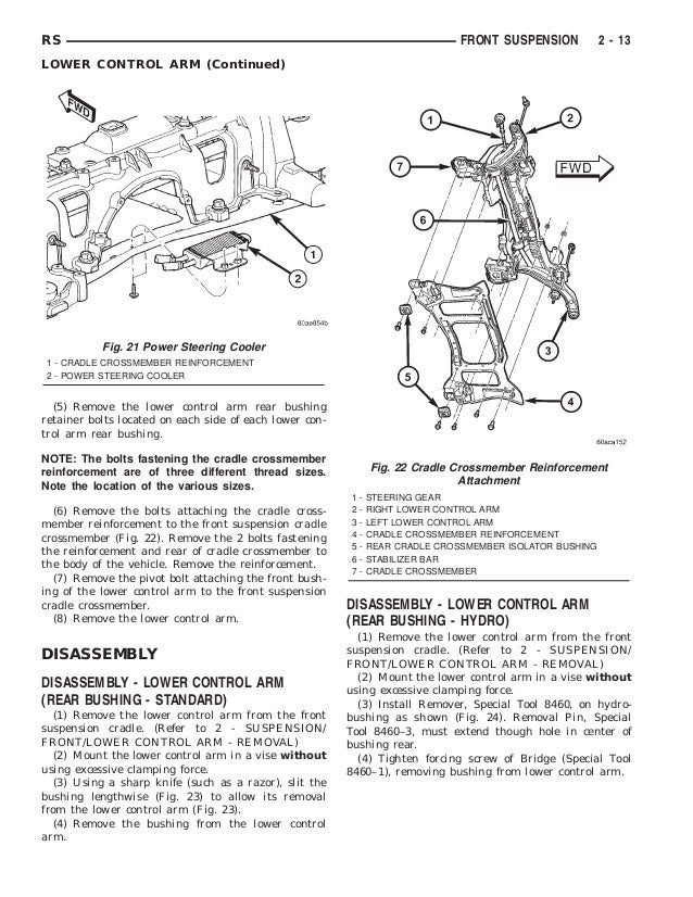 2002 DODGE CARAVAN Service Repair Manual