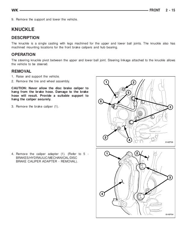 2005 jeep grand cherokee service repair manual rh slideshare net