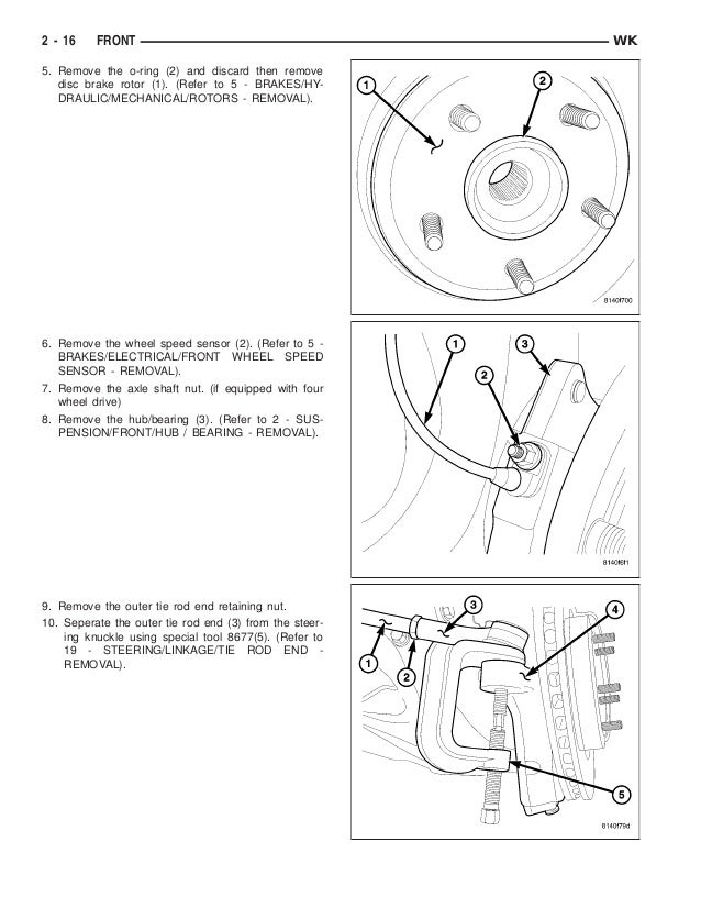 2005 jeep grand cherokee service repair manual Hemi Engine Model