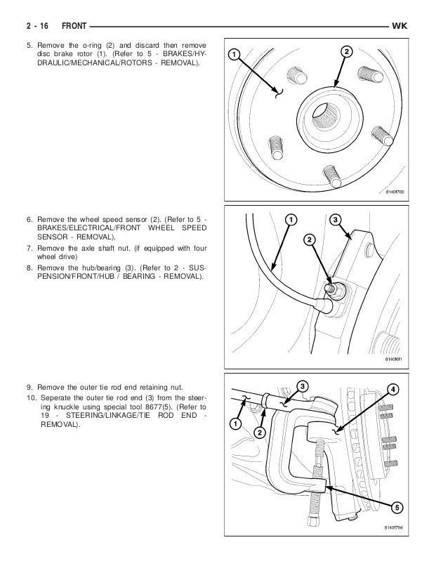 2005 jeep grand cherokee service repair manual