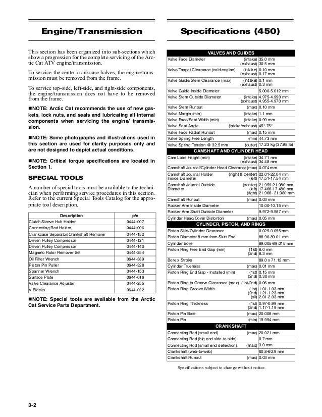 2011 Arctic Cat 650 Atv Service Repair Manual