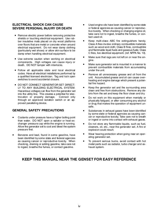 Cummins Onan Gghg Detector Control Generator Sets Service