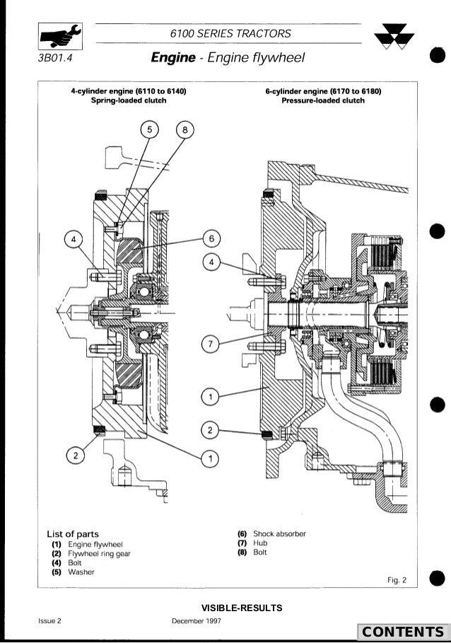 Massey Ferguson MF 6170 Tractor Service Repair Manual