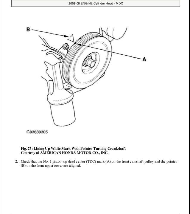 2003 ACURA MDX Service Repair Manual