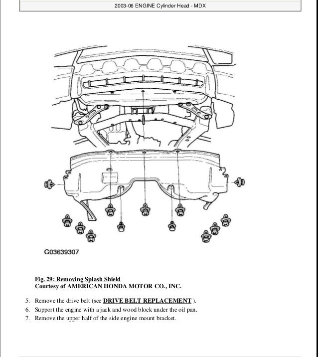 2003 ACURA MDX Service Repair Manual