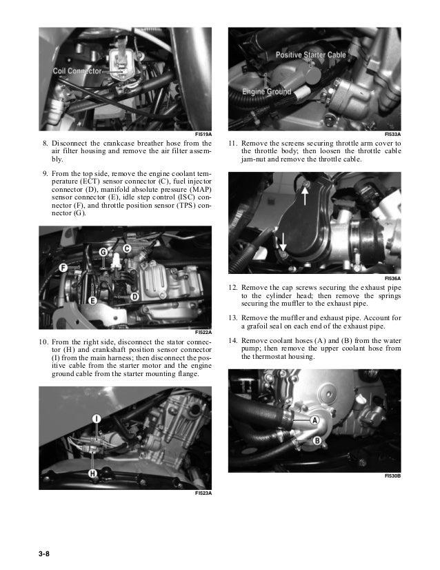 2011 ARCTIC CAT 550 ATV Service Repair Manual