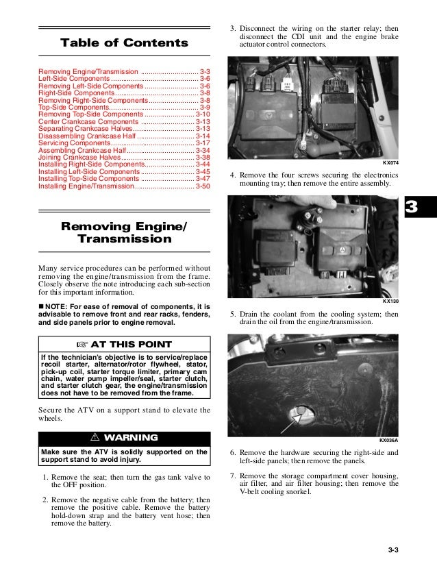 2004 ARCTIC CAT 650 TWIN ATV Service Repair Manual