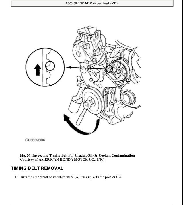 2001 ACURA MDX Service Repair Manual