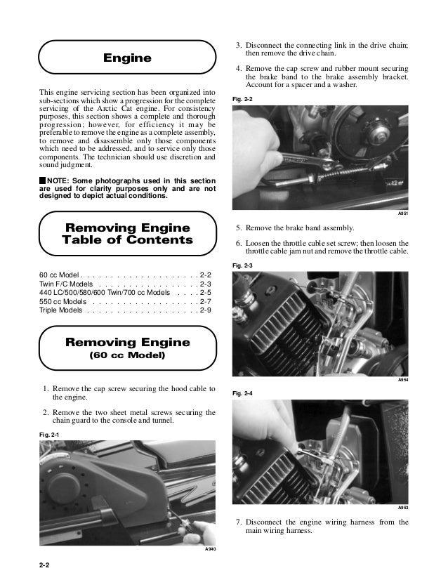 2000 arctic cat bearcat 550 wide track service repair manual. Black Bedroom Furniture Sets. Home Design Ideas