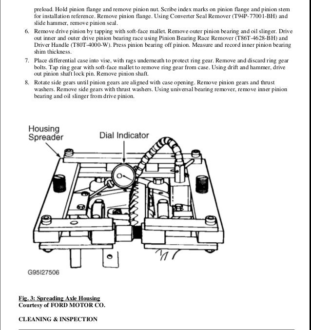 1999 Ford Explorer Service Repair Manual