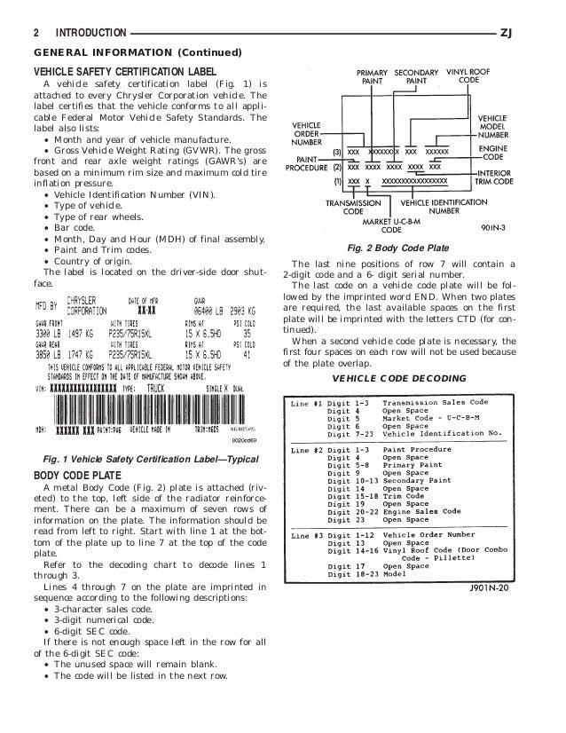 1996 JEEP GRAND CHEROKEE Service Repair Manual