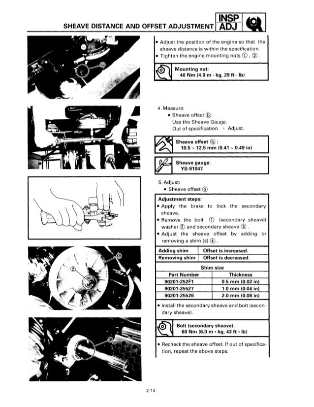 1997 YAMAHA VENTURE VT480 SNOWMOBILE Service Repair Manual