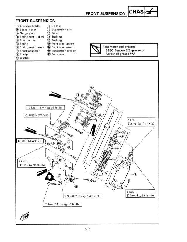 1996 YAMAHA VENTURE VT480 SNOWMOBILE Service Repair Manual