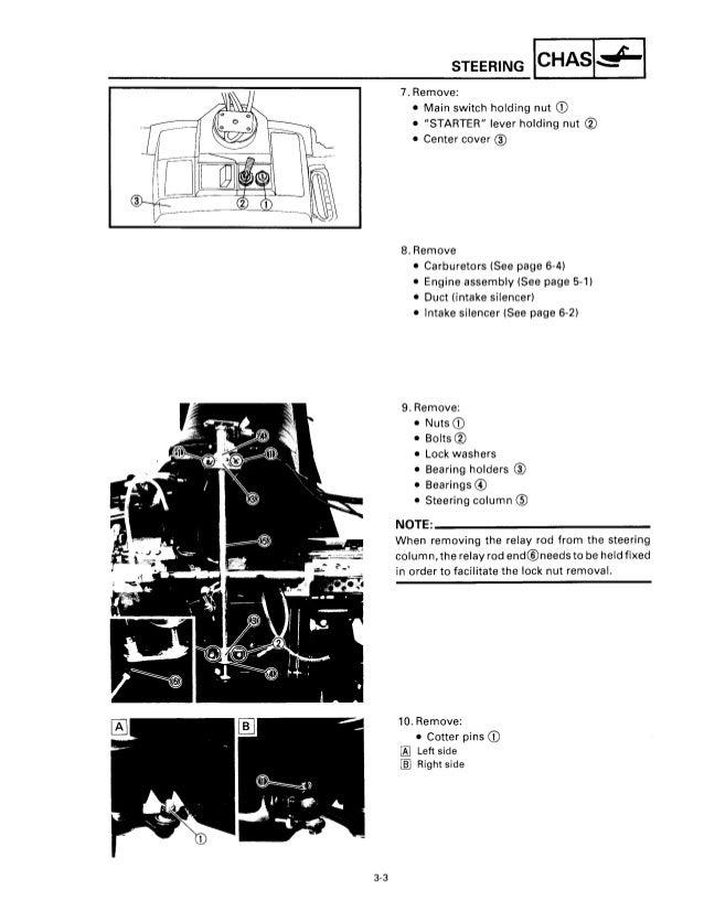 1995 YAMAHA VENTURE VT480 SNOWMOBILE Service Repair Manual