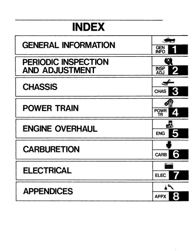 1993 YAMAHA VENTURE VT480 SNOWMOBILE Service Repair Manual