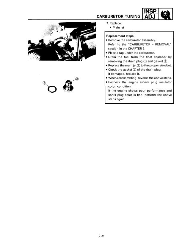 1993 YAMAHA VENTURE VT480 SNOWMOBILE Service Repair Manual