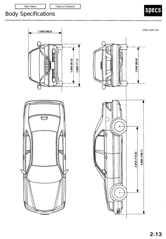 2000 ACURA 3.5RL Service Repair Manual