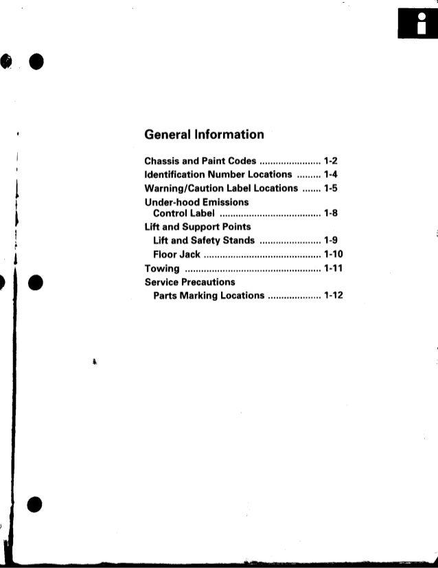 1998 acura integra repair manua