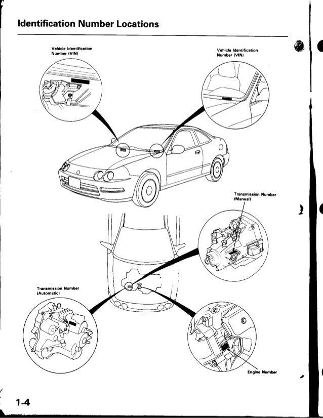 1998 ACURA INTEGRA Service Repair Manual