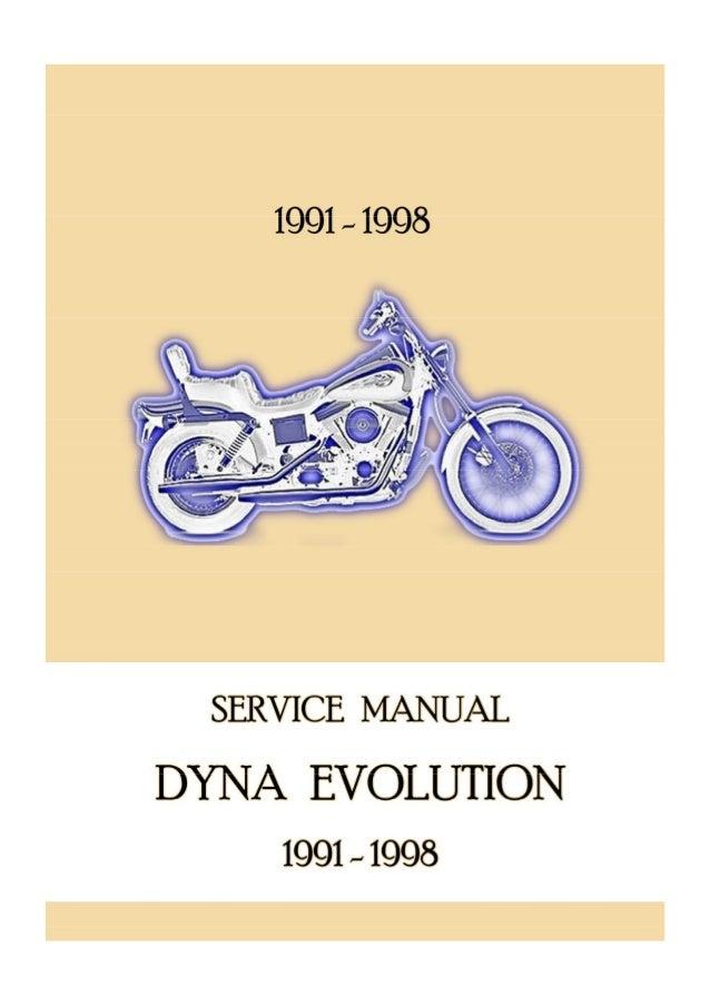 1995 Harley Davidson Dyna Glide Service Repair Manual on