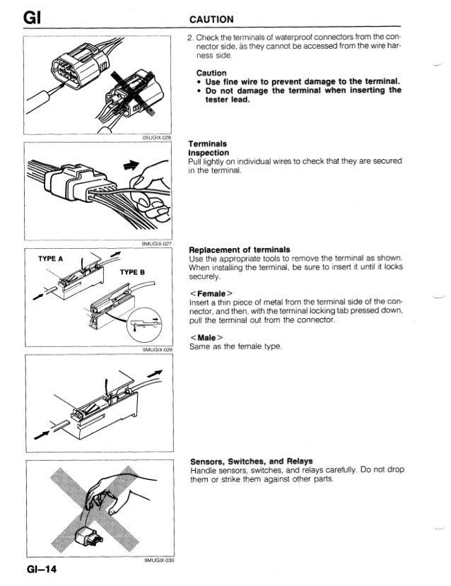 1989 Mazda 323 Protege Bg Service Repair Manual