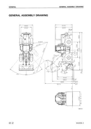 Komatsu WA300L-3 Wheel Loader Service Repair Manual SN