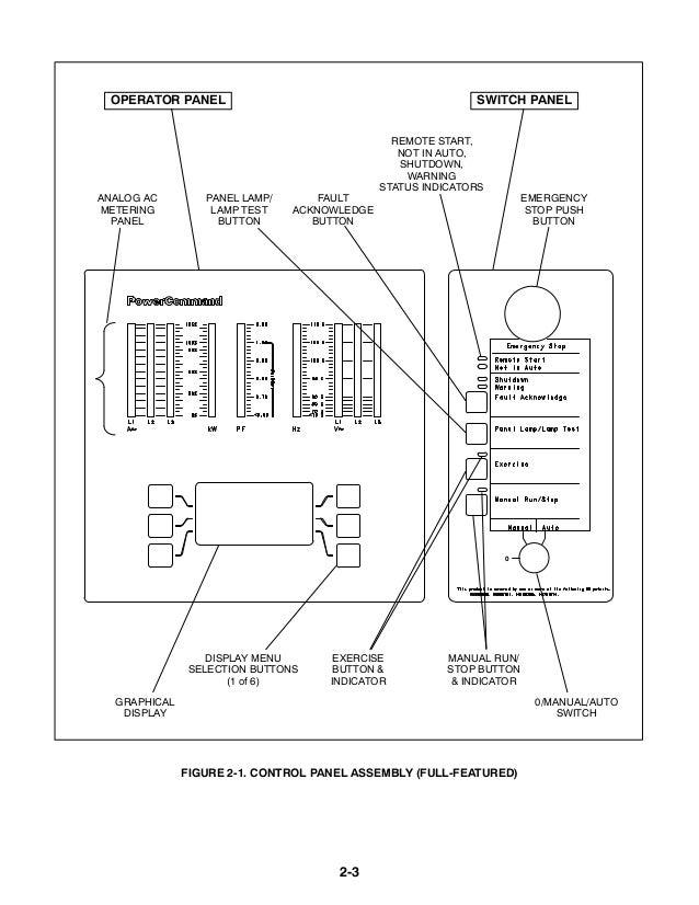 Cummins Onan DFEJ Generator Set with Power Command 3200