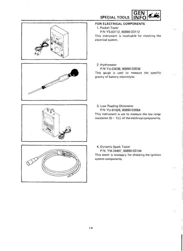 Yamaha G9-AH Golf Cart Service Repair Manual on