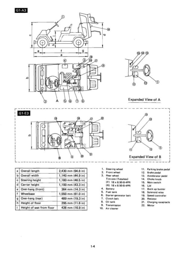 Yamaha G1 Golf Car Service Repair Manual on