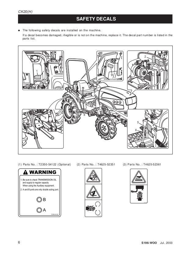 Kioti Ck20s Manual Wiring Diagram  Kioti Ck30, Kioti Lb1914, Kioti