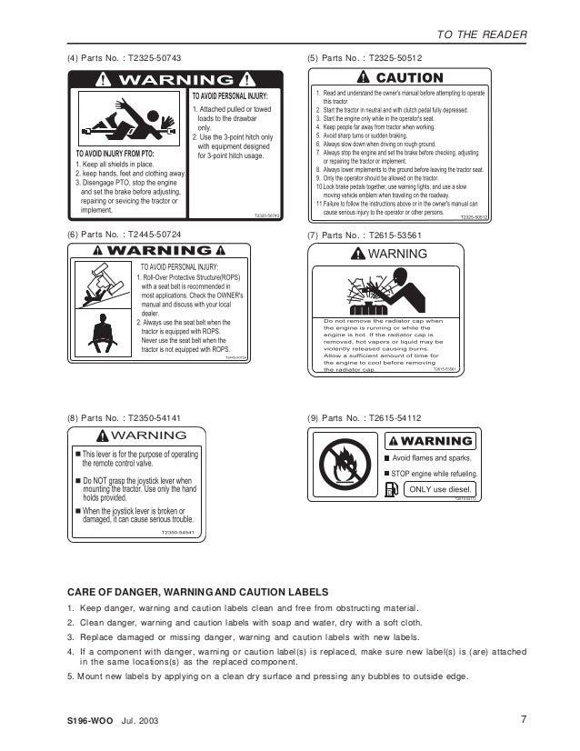 Kioti Daedong CK20 Tractor Service Repair Manual