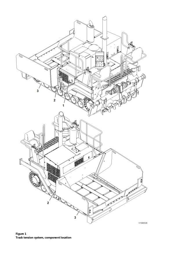 VOLVO PF4410 TRACKED PAVER Service Repair Manual