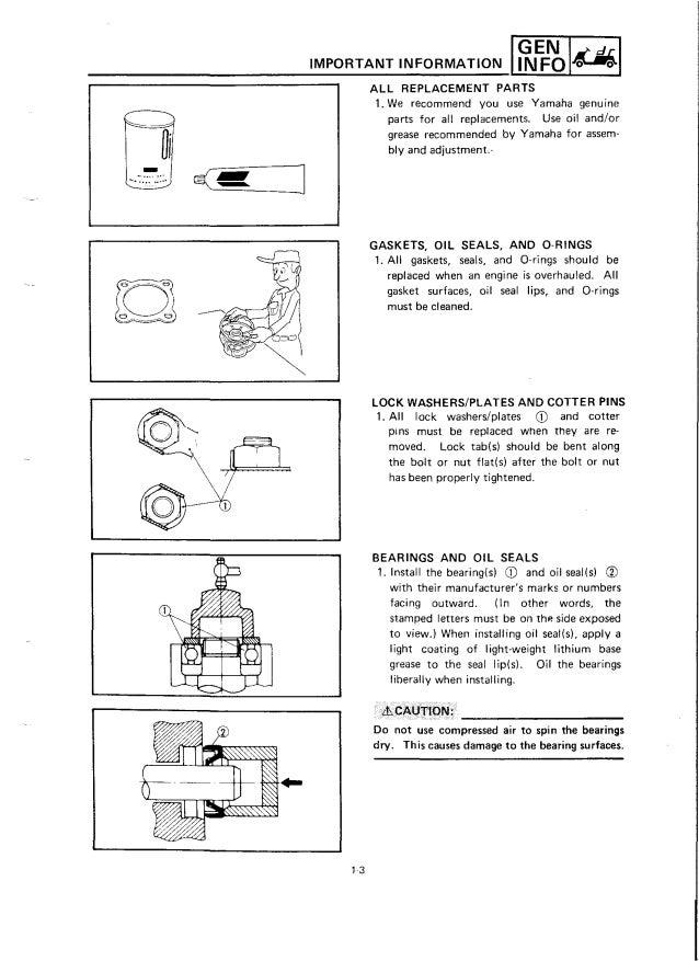 Yamaha G2-E Golf Cart Service Repair Manual