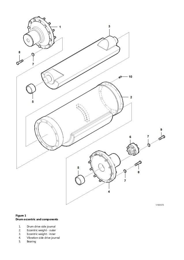 VOLVO SD45D SINGLE-DRUM ROLLER Service Repair Manual