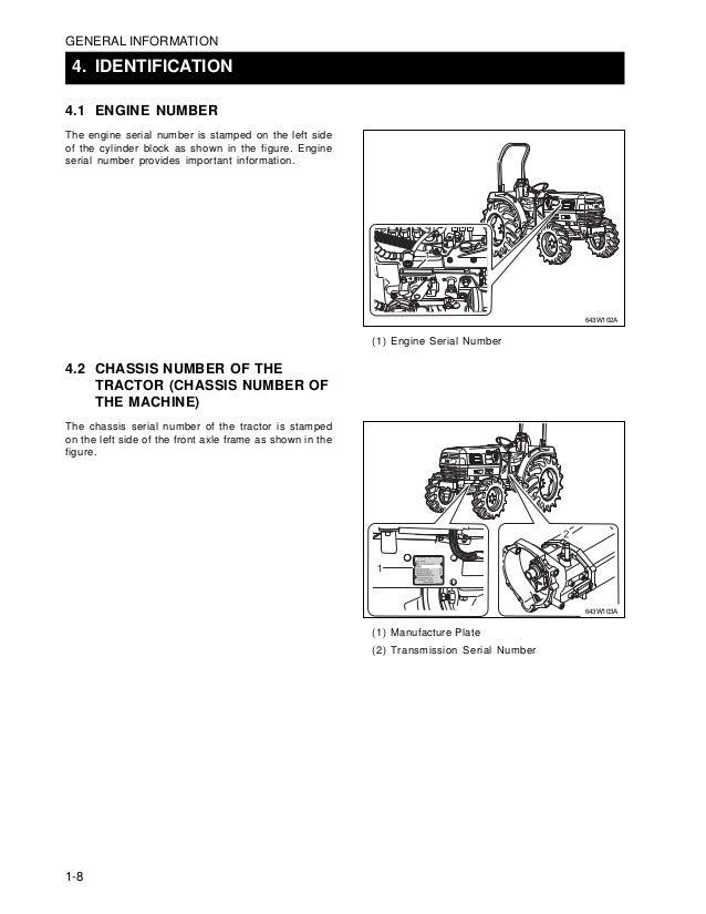 Kioti Daedong DK450L Tractor Service Repair Manual